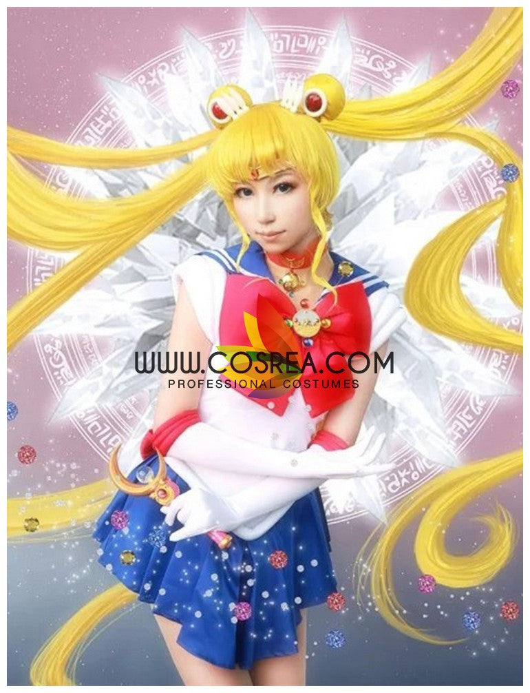 Cosrea P-T Sailormoon Sailor Moon Usagi Tsukino Cosplay Costume