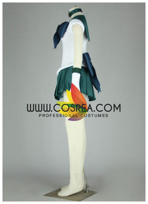 Cosrea P-T Sailormoon Sailor Neptune Michiru Kaioh Cosplay Costume