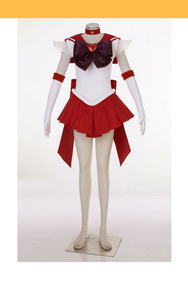 Sailormoon Super S Sailor Mars Rei Hino Cosplay Costume - Cosrea Cosplay