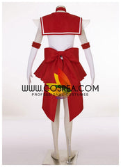 Sailormoon Super S Sailor Mars Rei Hino Cosplay Costume