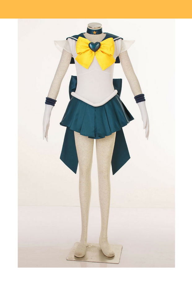 Sailormoon Super S Sailor Uranus Haruka Tenoh Cosplay Costume - Cosrea Cosplay