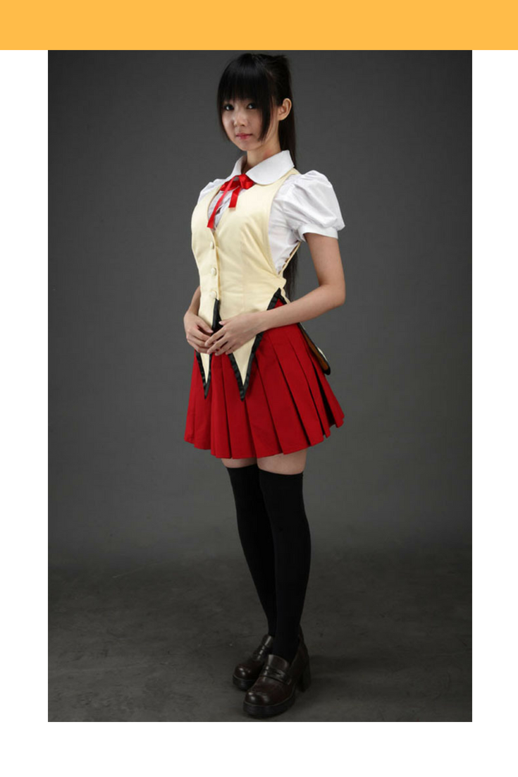 School Rumble Yagami Academy Female Summer Cosplay Costume