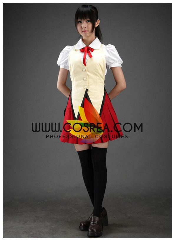 Cosrea P-T School Rumble Yagami Academy Female Summer Cosplay Costume