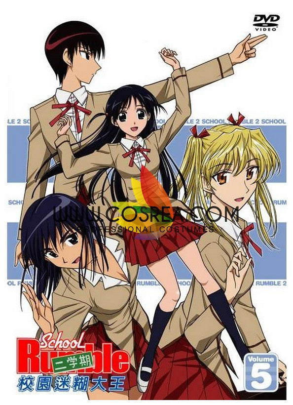 Cosrea P-T School Rumble Yagami Academy Female Winter Cosplay Costume