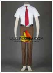Seitokai Yakuindomo Ousai Academy Male Summer Cosplay Costume