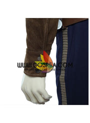 Han Solo Star Wars Suede Leather Cosplay Costume - Cosrea Cosplay
