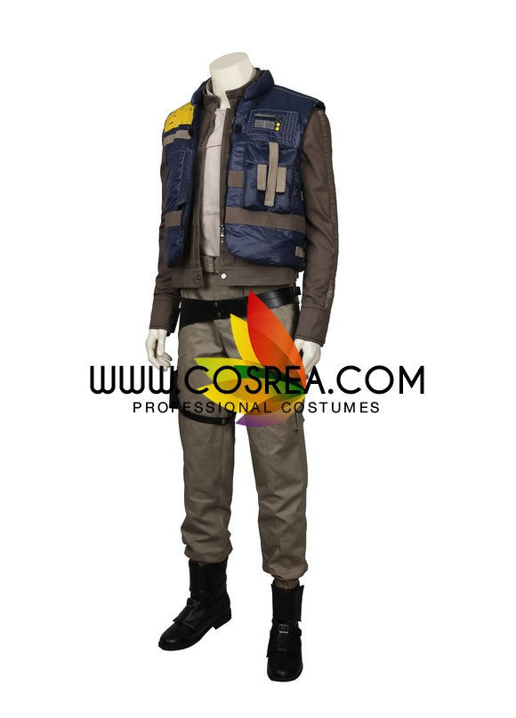 Cassian Andor Rogue One Star Wars Cosplay Costume - Cosrea Cosplay