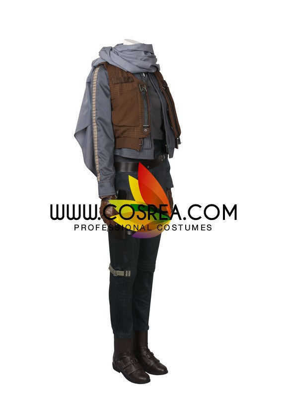 Jyn Erso Rogue One Star Wars Cosplay Costume - Cosrea Cosplay