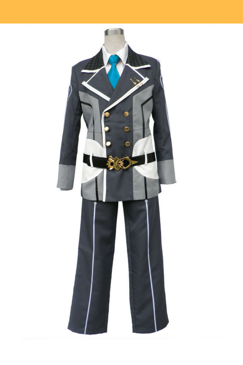 Cosrea P-T Starry Sky Seigetsu Academy Male Uniform With Blue Tie Cosplay Costume