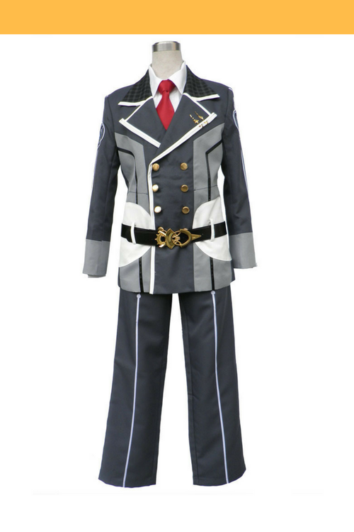 Cosrea P-T Starry Sky Seigetsu Academy Male Uniform With Red Tie Cosplay Costume