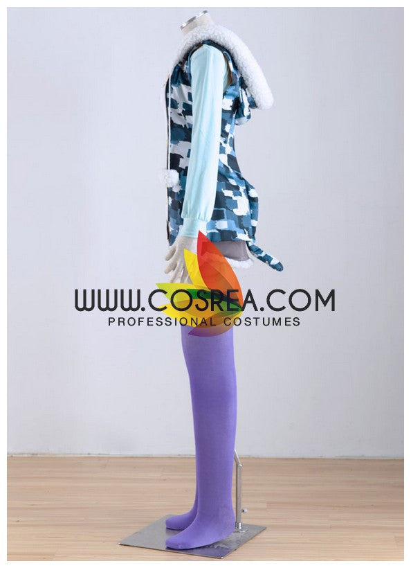Super Sonico Tiger Hoodie Cosplay Costume - Cosrea Cosplay