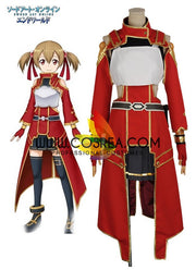 Sword Art Online Silica Battle Cosplay Costume - Cosrea Cosplay