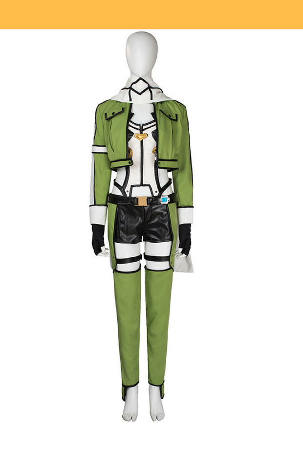 Sword Art Online Sinon Cosplay Costume - Cosrea Cosplay