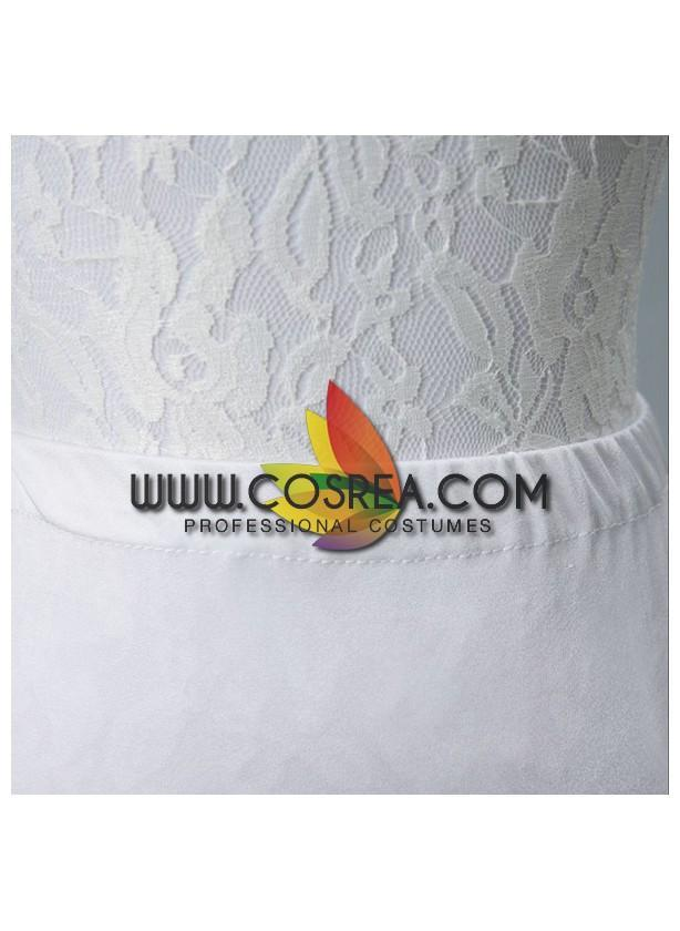 White 2 Tier Mermaid Tail Petticoat - Cosrea Cosplay