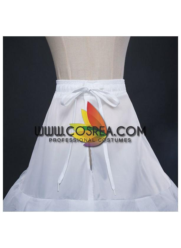 White 3 Tier With Double Layer Tulle Petticoat - Cosrea Cosplay