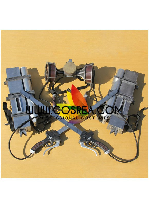 Cosrea prop Attack On Titan Three Dimensional Maneuver Gear Cosplay Prop