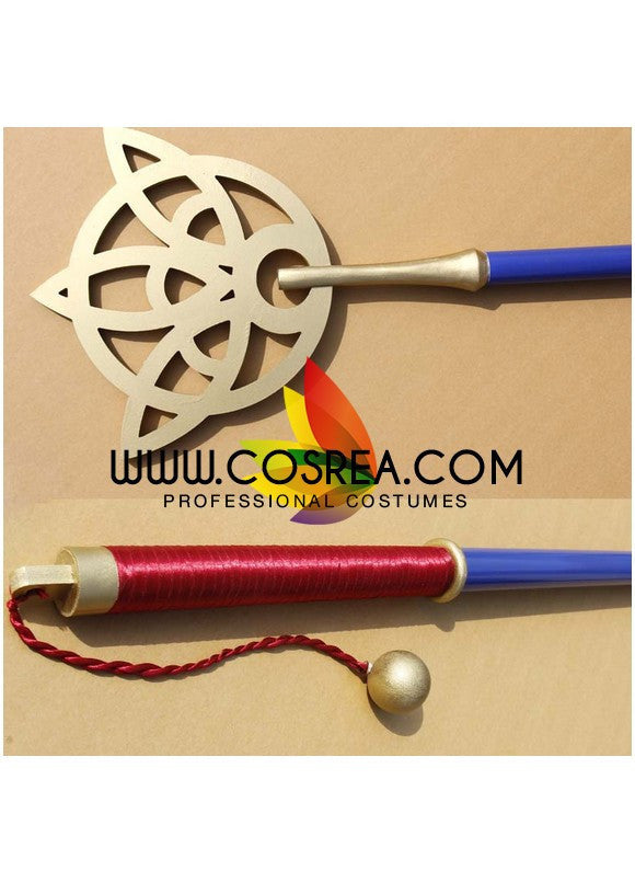 Final Fantasy X Yuna Staff Cosplay Prop - Cosrea Cosplay