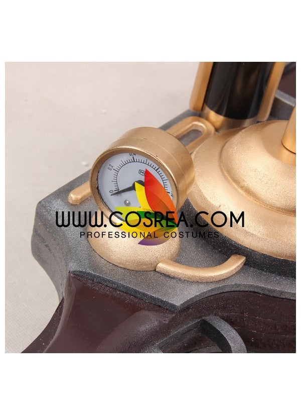 Kabaneri of the Iron Fortress Mumei Steam Gun Cosplay Prop - Cosrea Cosplay