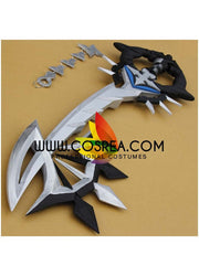 Kingdom Hearts Roxas Two Become One Keyblade Cosplay Prop - Cosrea Cosplay