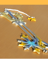 Kingdom Hearts Sora Oathkeeper Keyblade Cosplay Prop