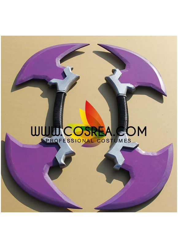 League of Legend Draven Double Blade Cosplay Prop - Cosrea Cosplay