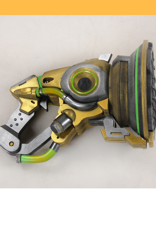 Overwatch Lucio Blaster Golden Cosplay Prop