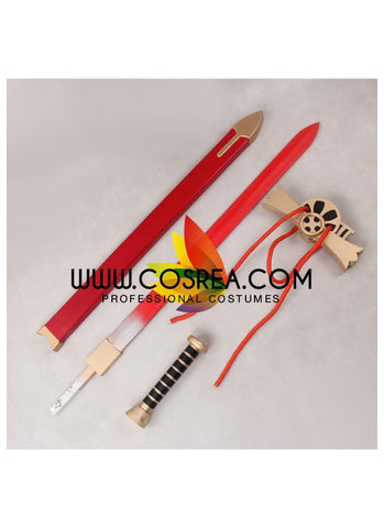Seraph Of The End Mikaela Hyakuya Red Version Cosplay Prop