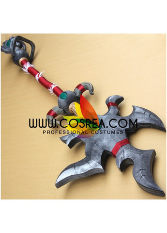 World of Warcraft Tyrannical Gladiator's Battle Staff Cosplay Prop