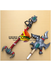 World of Warcraft Tyrannical Gladiator's Battle Staff Cosplay Prop - Cosrea Cosplay