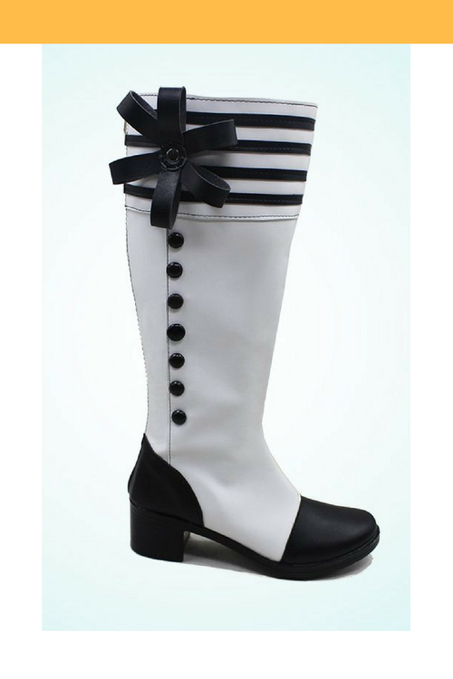 Cosrea shoes Black Butler Charles Grey Cosplay Shoes