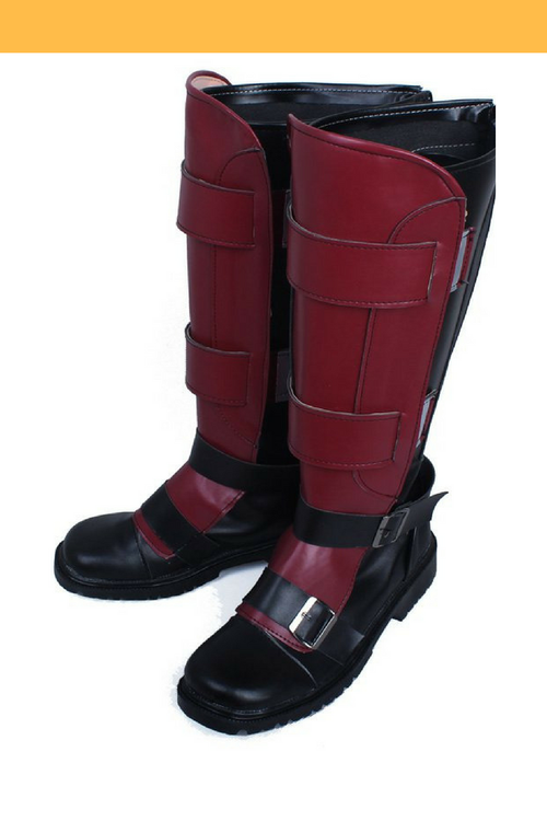 Cosrea shoes Deadpool Movie Version Cosplay Shoes
