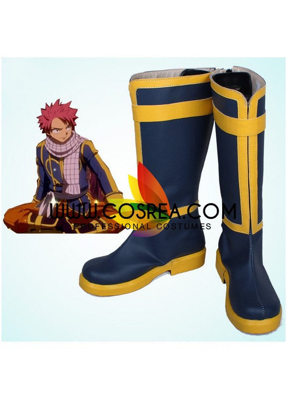 Fairy Tail Natsu Dragneel Cosplay Shoes - Cosrea Cosplay