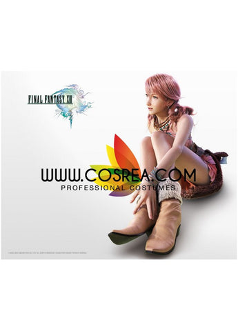 Final Fantasy 13 Vanille Cosplay Shoes