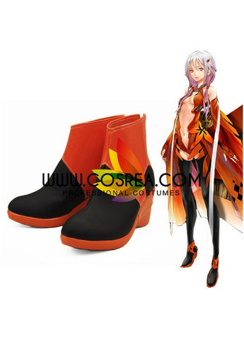 Guilty Crown Inori Battle Cosplay Shoes