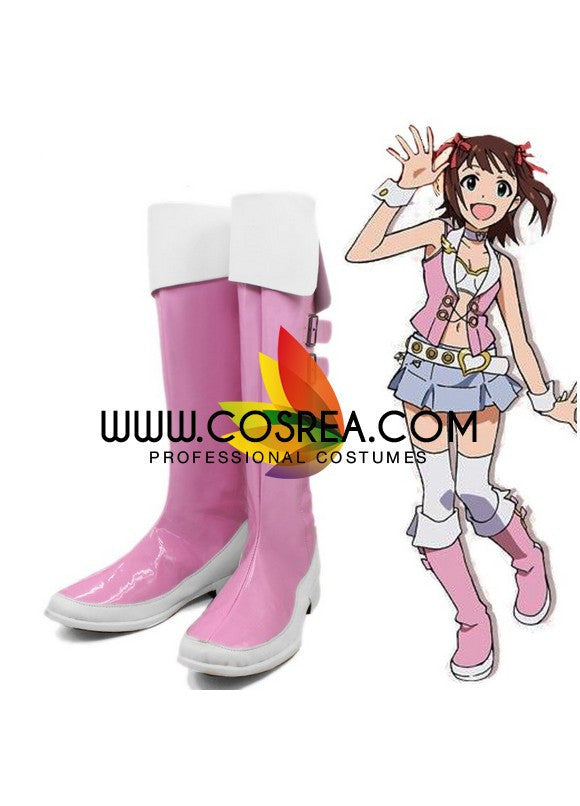Idolmaster PU Leather Cosplay Shoes - Cosrea Cosplay