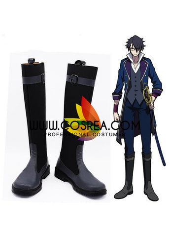 K Saruhiko Fushimi Cosplay Shoes