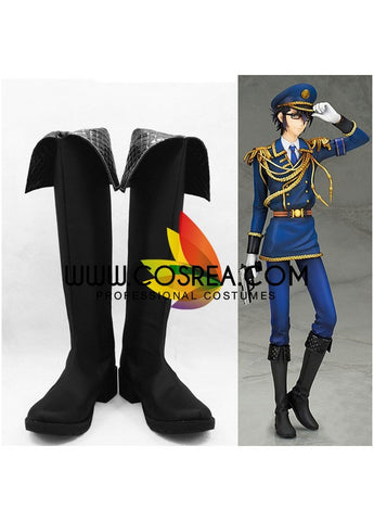 K Saruhiko Uniform Cosplay Shoes