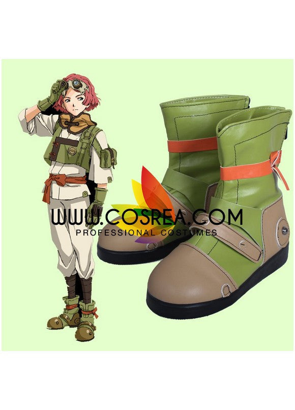 Kabaneri of the Iron Fortress Yukina Cosplay Shoes - Cosrea Cosplay