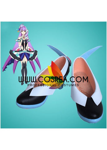 Macross Delta Mikumo Guynemer Cosplay Shoes