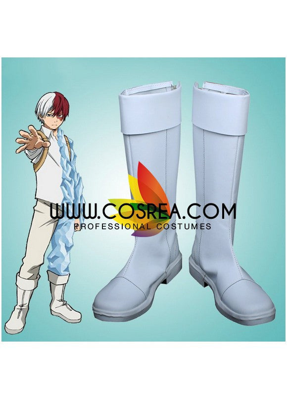 Cosrea shoes My Hero Academia Shouto Todoroki Cosplay Shoes