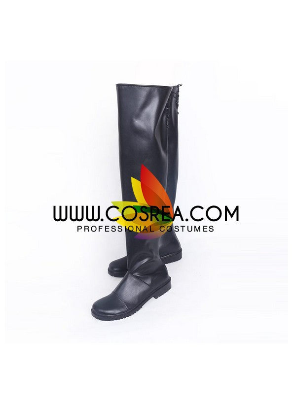 NieR Automata 2B Flat Heels Cosplay Shoes - Cosrea Cosplay