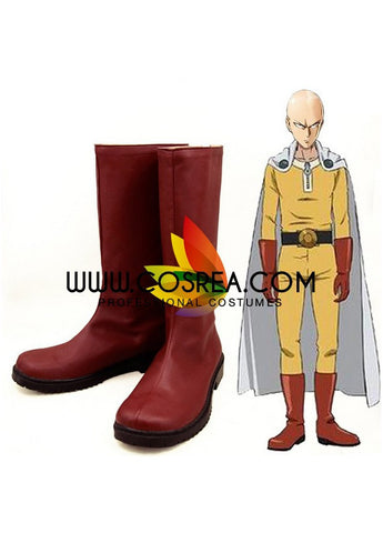 One Punch Man Saitama Cosplay Shoes