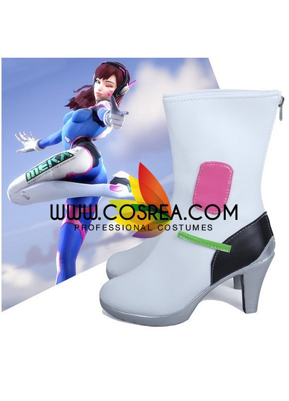 Overwatch DVA Cosplay Shoes - Cosrea Cosplay