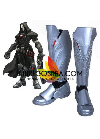 Overwatch Reaper Cosplay Shoes