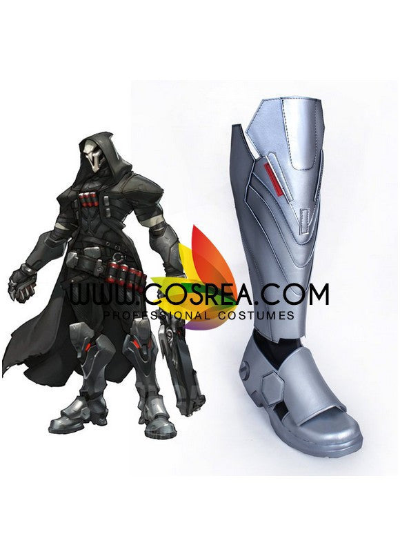 Overwatch Reaper Cosplay Shoes - Cosrea Cosplay