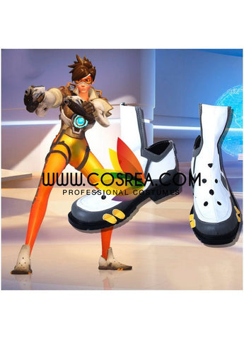 Overwatch Tracer Cosplay Shoes - Cosrea Cosplay