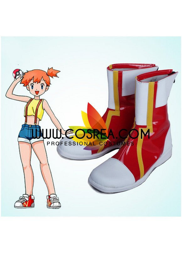 Pokemon Misty Cosplay Shoes - Cosrea Cosplay