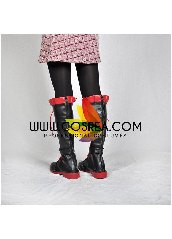 RWBY Ruby Rose Cosplay Shoes - Cosrea Cosplay