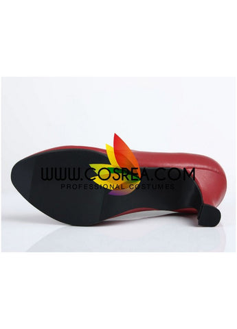 Sailormoon Sailor Mars Cosplay Shoes
