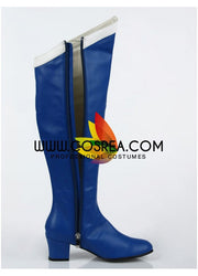 Cosrea shoes Sailormoon Sailor Mercury Cosplay Shoes